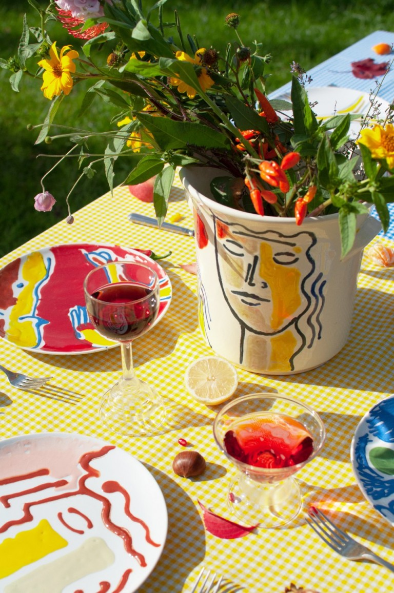 Hello, I'm Ilaria Bianchi. TEMPERANZA ceramic